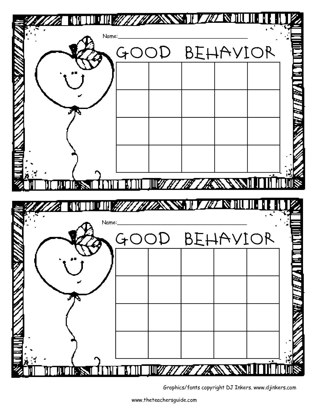 Free Printable Reward And Incentive Charts   Sticker Charts - Free Printable Incentive Charts For Teachers