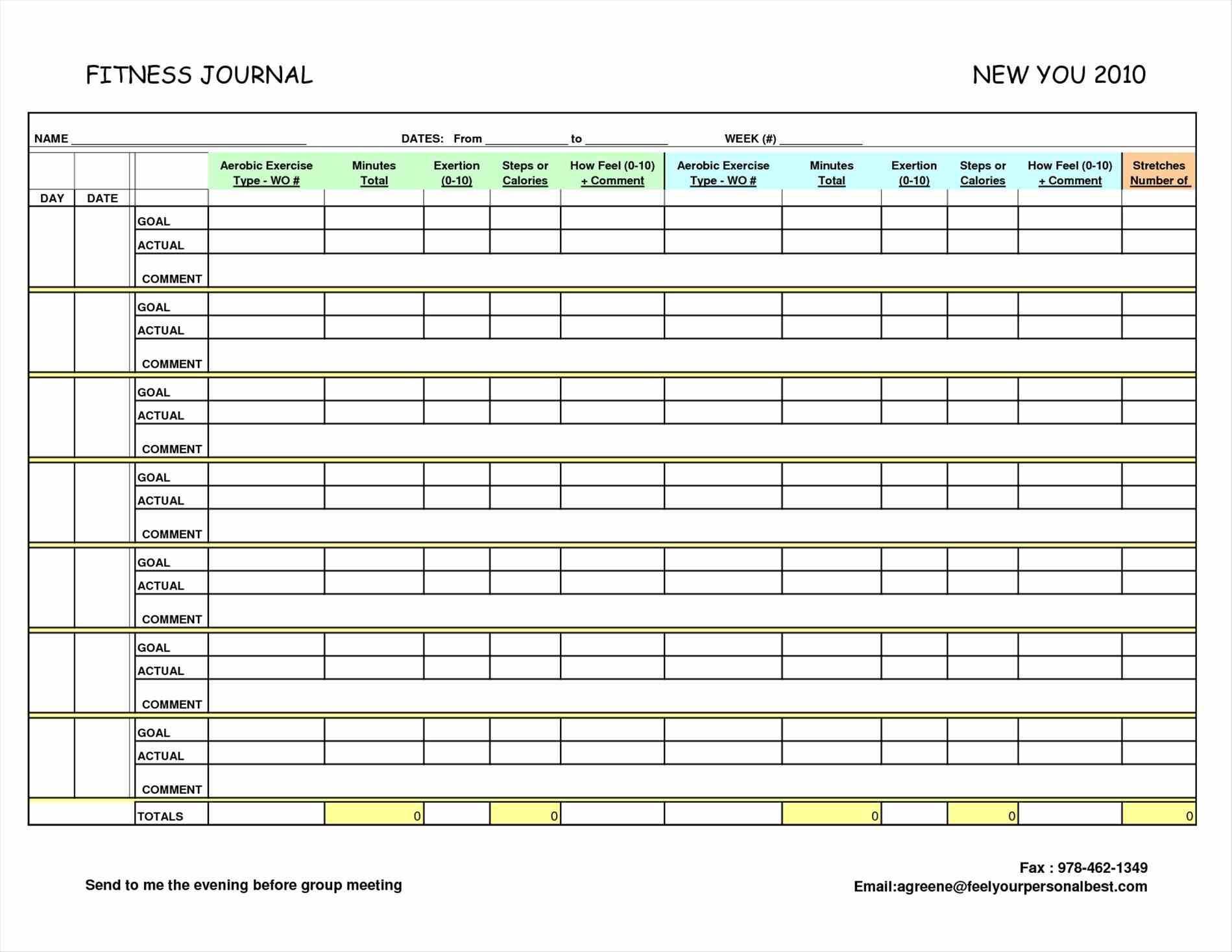 Free Printable Running Log | Online Calendar Templates - Free Printable Running Log