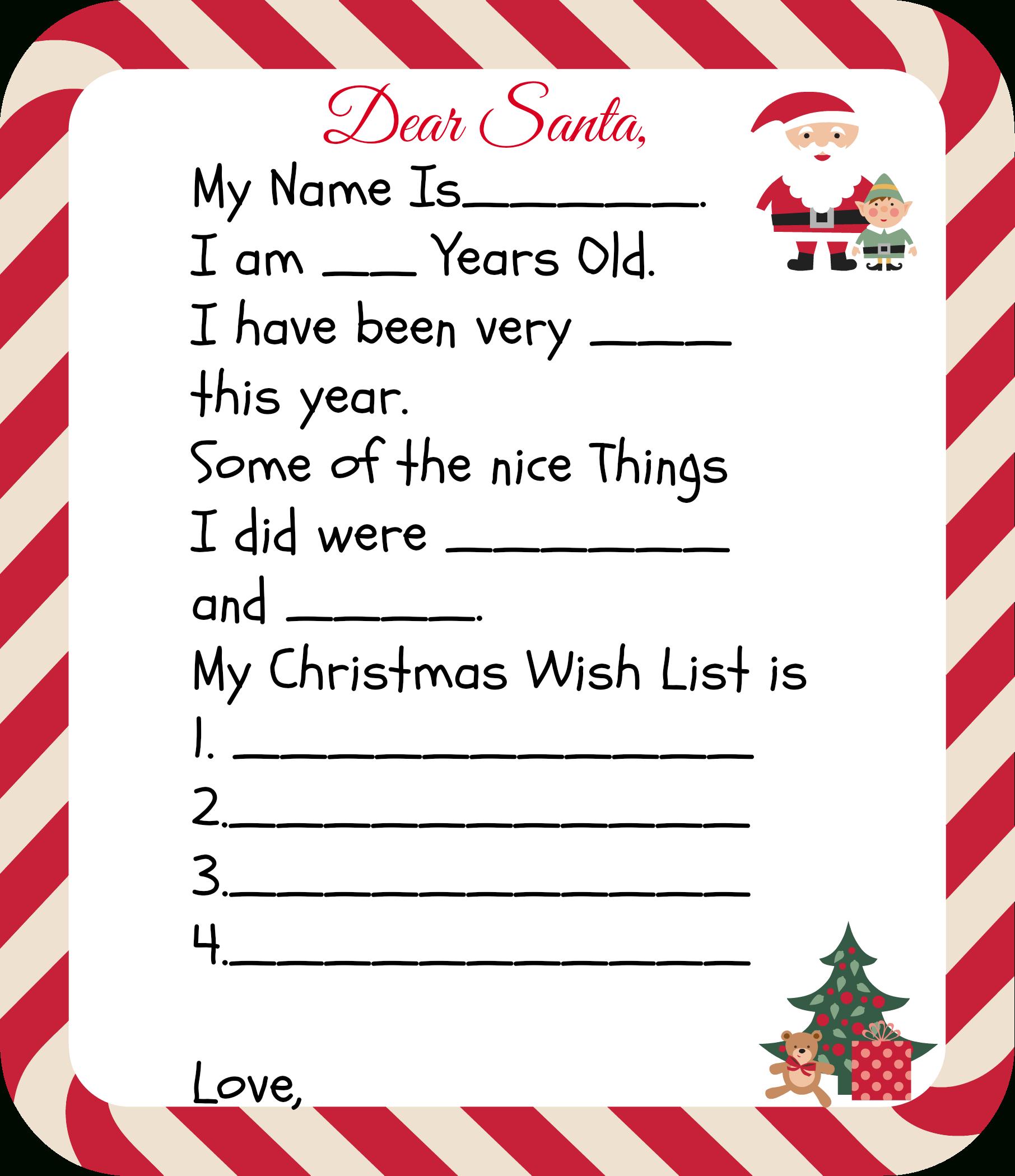 Free Printable Santa Letters For Kids | Holiday Ideas: Christmas - Free Printable Dear Santa Stationary