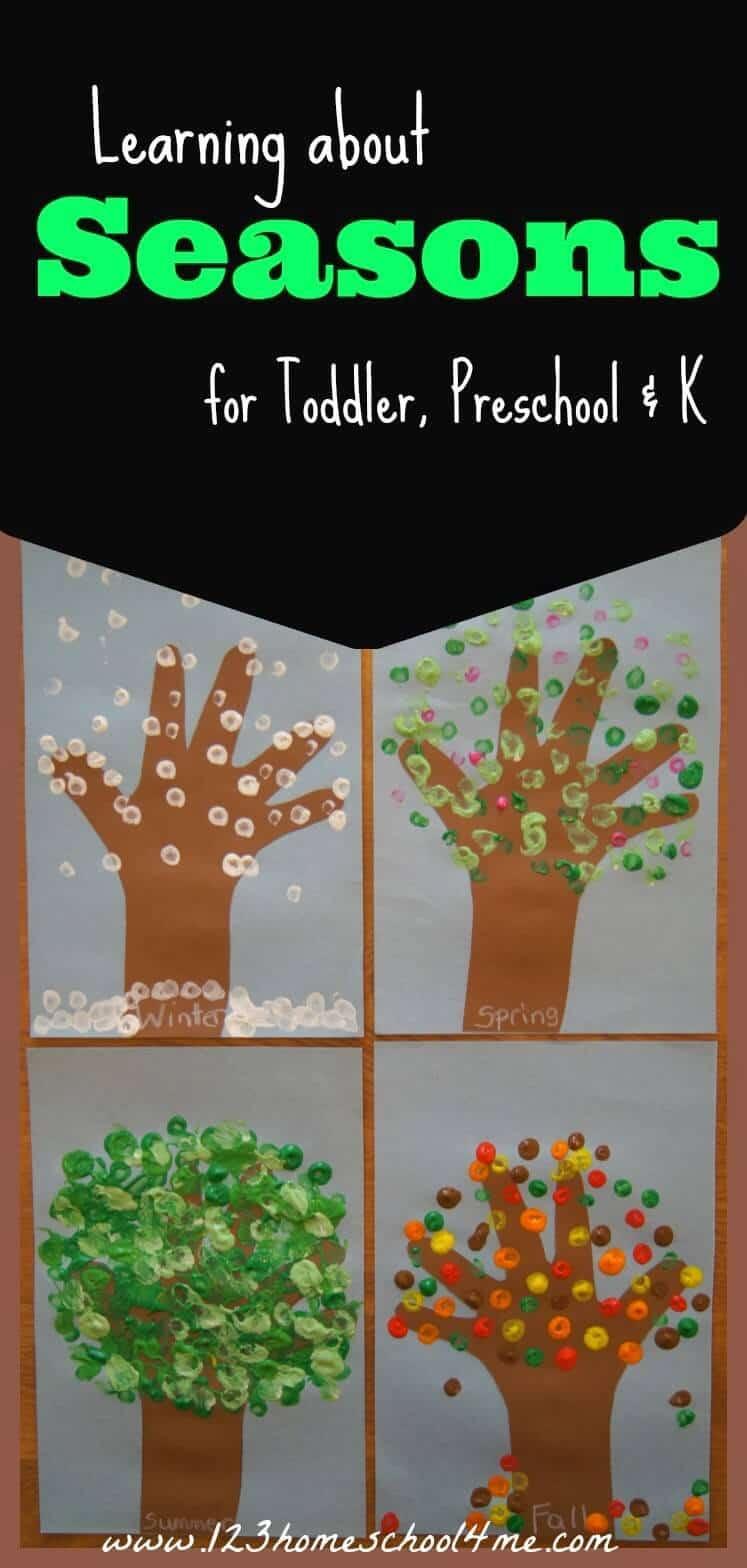 Free Printable Seasons Activities | 123 Homeschool 4 Me - Free Printable Pictures Of The Four Seasons