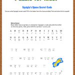 Free Printable Secret Code Word Puzzle For Kids. This Puzzle Has A   Free Word Search With Hidden Message Printable