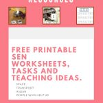 Free Printable Sen Teaching Resources – Special Needs Teaching And   Free Printable Widgit Symbols