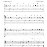 Free Printable Sheet Music: O Come, All Ye Faithful, Easy Free   Free Guitar Sheet Music For Popular Songs Printable