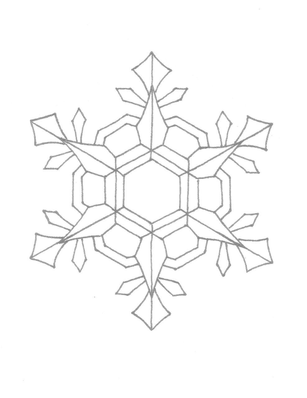Free Printable Snowflake Coloring Pages 11 Snowflakes Printable - Free Printable Snowflakes