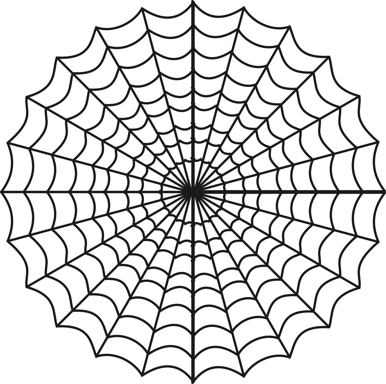 Free Printable Spider Web Coloring Pages For Kids Inside   Preschool - Free Printable Spider Web