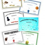 Free Printable Sport Certificates   Over 100 Available   All Free   Free Printable Softball Award Certificates