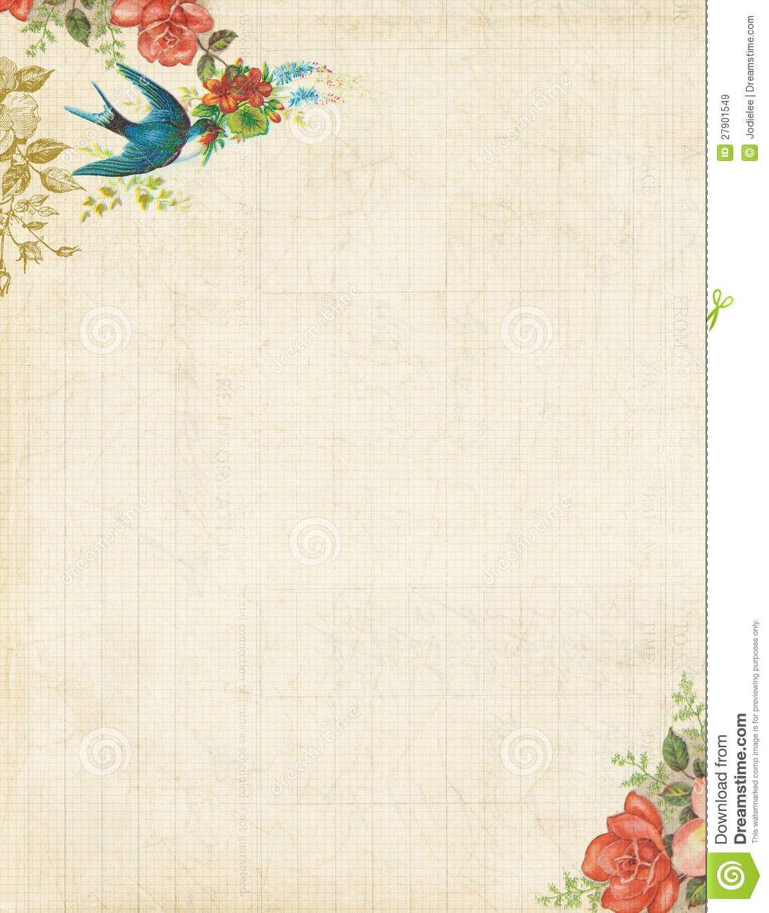 Free Printable Stationery Vintage Backgrounds - 8.4.kaartenstemp.nl • - Free Printable Backgrounds For Paper