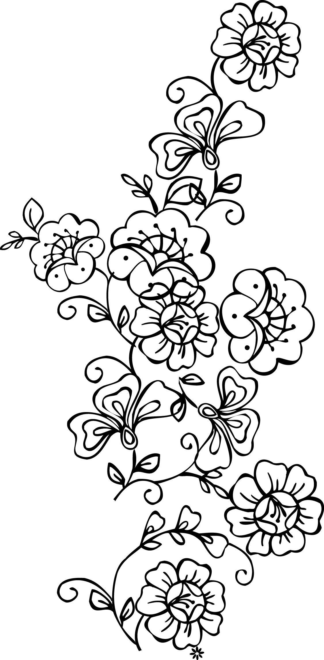 Free Printable Stencils Of Trees | Stencils Designs Free Printable - Free Printable Lace Stencil