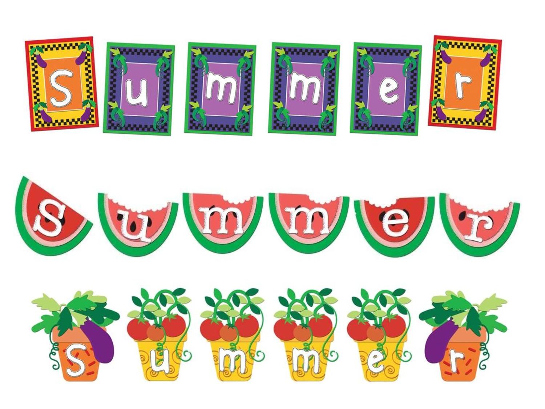 Free Printable Summer Clip Art | Summer Graphics Printable Summer - Free Printable Summer Clip Art