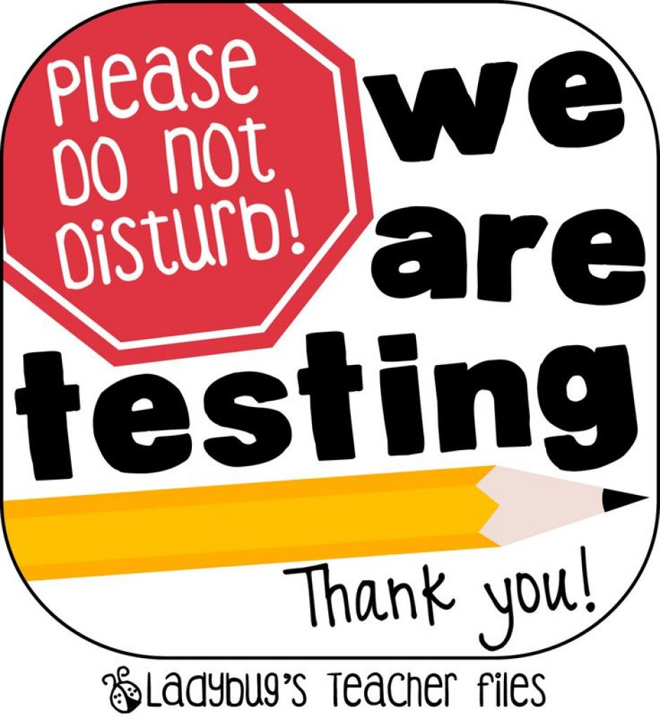 Free Printable Testing Signs | Free Printable - Free Printable Testing Signs