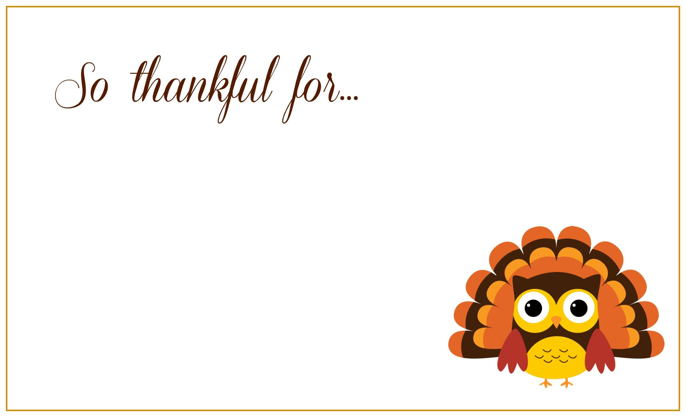 Free Printable Thanksgiving Greeting Cards | Thanksgiving Day - Free Printable Thanksgiving Cards