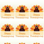 Free Printable Thanksgiving Place Cards    Also Great For Cupcake   Free Printable Thanksgiving Place Cards To Color