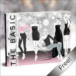 Free Printable The Basic Bundle Fashion Template Fashion | Etsy   Free Printable Fashion Templates