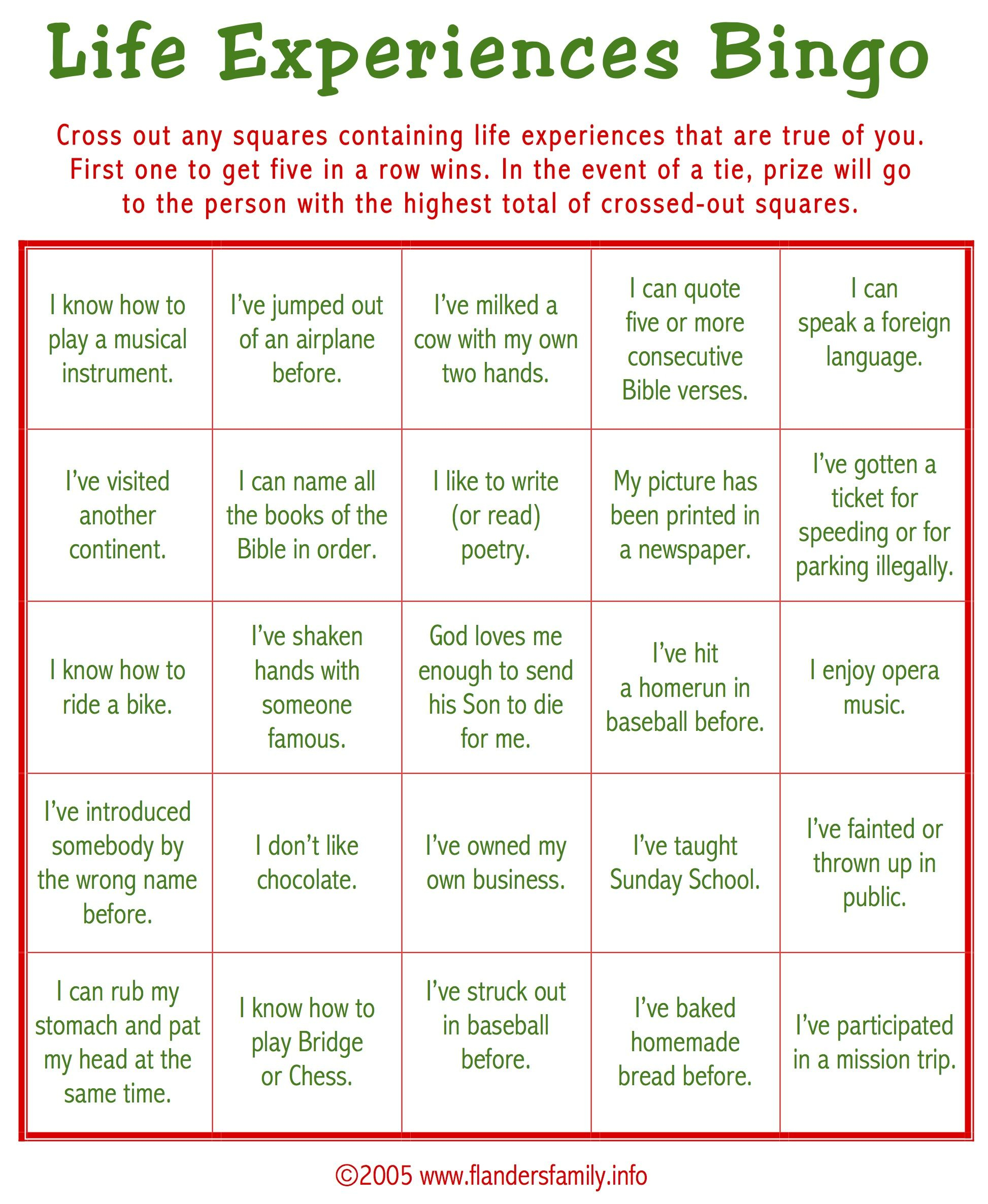 Free Printable: This Game Is A Great Ice Breaker. Play It While - Retirement Party Games Free Printable
