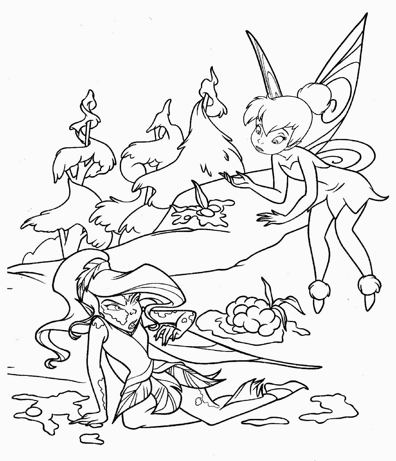 Free Printable Tinkerbell Coloring Pages For Kids For Tinkerbell - Tinkerbell Coloring Pages Printable Free