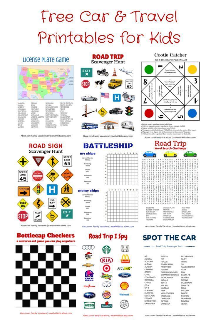 Free Printable Travel Games For Kids | Family Travel - Best - Free Printable Hangman Game