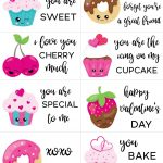 Free Printable Valentine Cards For Kids   Sarah Titus   Free Printable Childrens Valentines Day Cards