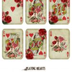 Free Printable   Valentine's Day Playing Cards (Ephemera's Vintage   Free Printable Deck Of Cards