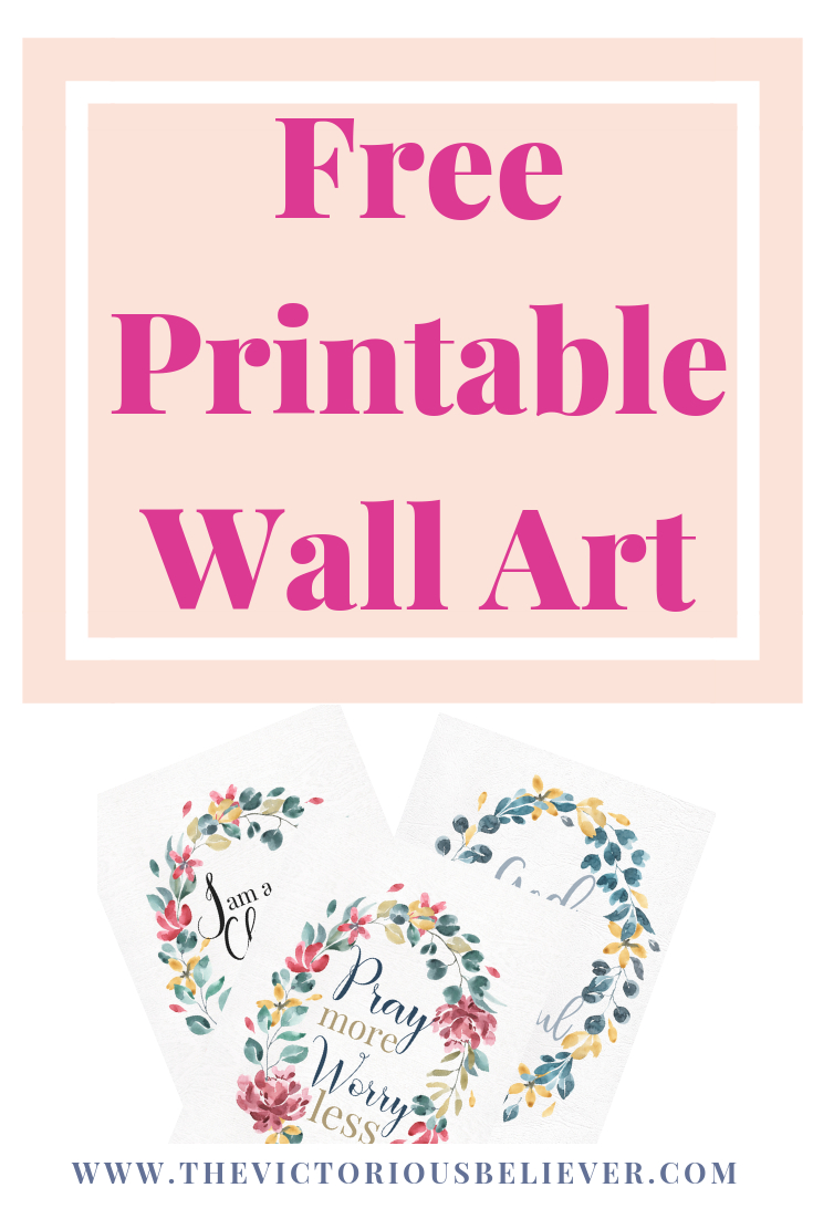 Free Printable Wall Art - Just Because | Decorating Ideas - Free Printable Christian Art