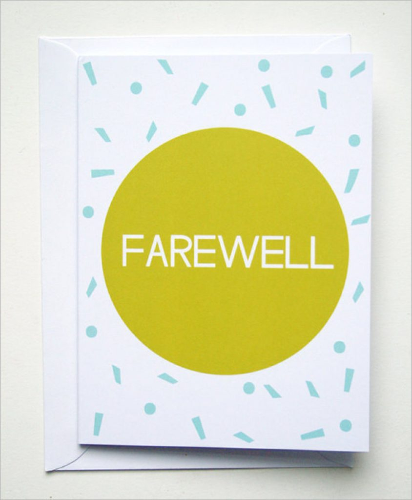 Free Printable We Will Miss You Greeting Cards | Free Printable - Free Printable We Will Miss You Greeting Cards