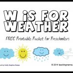 Free Printable Weather Activities For Kids   True Aim   Free Printable Weather Chart For Preschool