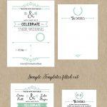 Free Printable Wedding Invitation Template | Wedding | Pinterest   Free Printable Wedding Invitations
