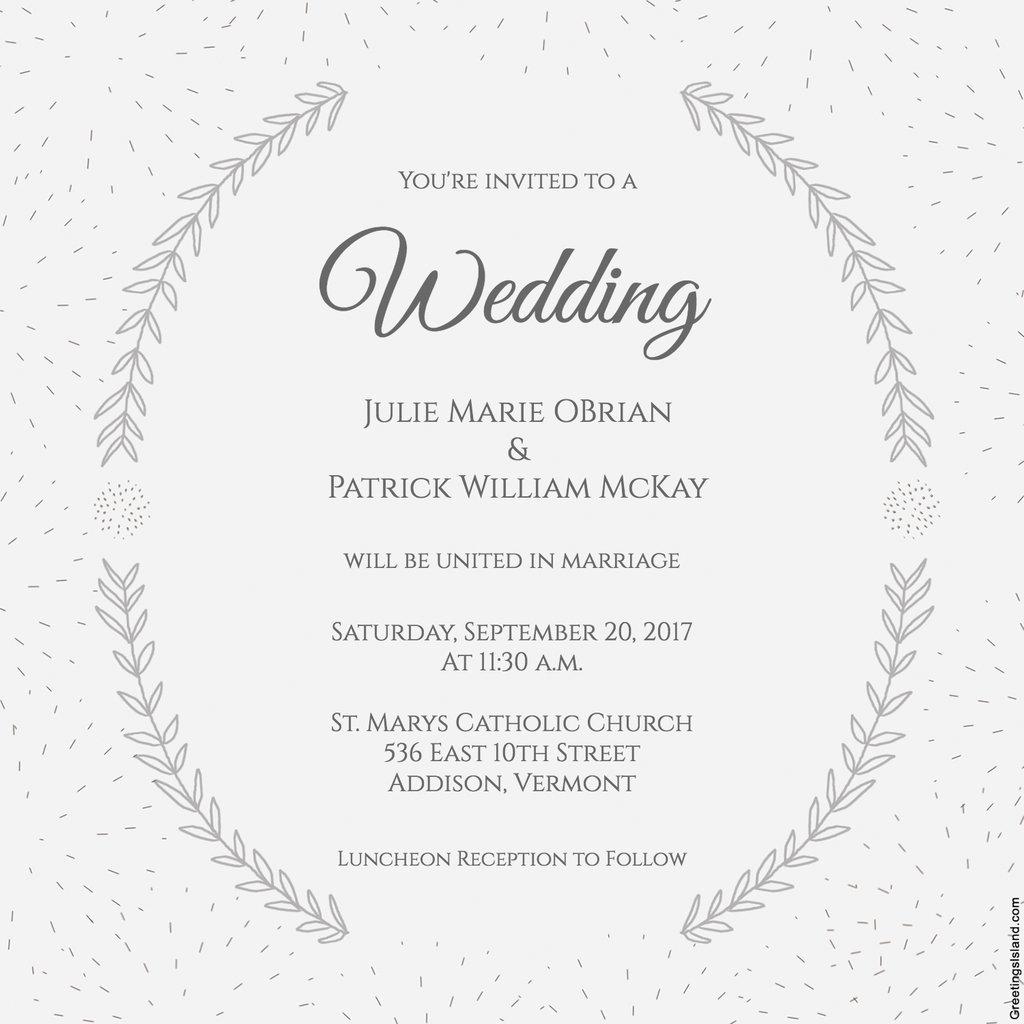 Free Printable Wedding Invitations | 12 Mesmerizing Free Bridal - Free Printable Wedding Invitation Templates