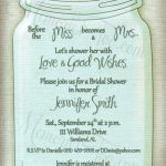 Free Printable Wedding Invitations Mason Jars | Rustic Wedding Ideas   Free Mason Jar Wedding Invitation Printable Templates