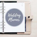 Free Printable Wedding Planner   A5 & Letter   Free Printable Wedding Planner Book Pdf