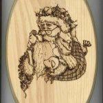 Free Printable Wood Burning Patterns | Sue's Santa Woodburning   Free Printable Pyrography Patterns