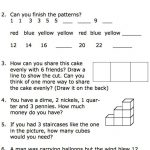 Free Printable Worksheets For Second Grade Math Word Problems   Math   Year 2 Free Printable Worksheets