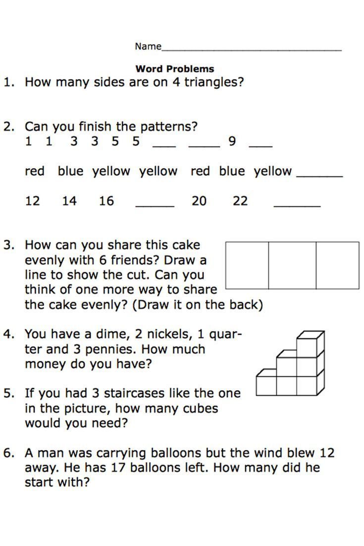 Free Printable Worksheets For Second-Grade Math Word Problems   Math - Year 2 Free Printable Worksheets
