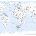 Free Printable World Map With Countries Labeled And Travel   Free Printable World Map With Countries Labeled