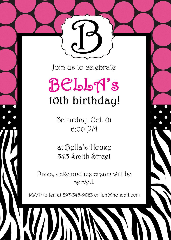 Free Printable Zebra Print Invitations Baby Shower | Emma - Free Printable Zebra Baby Shower Invitations