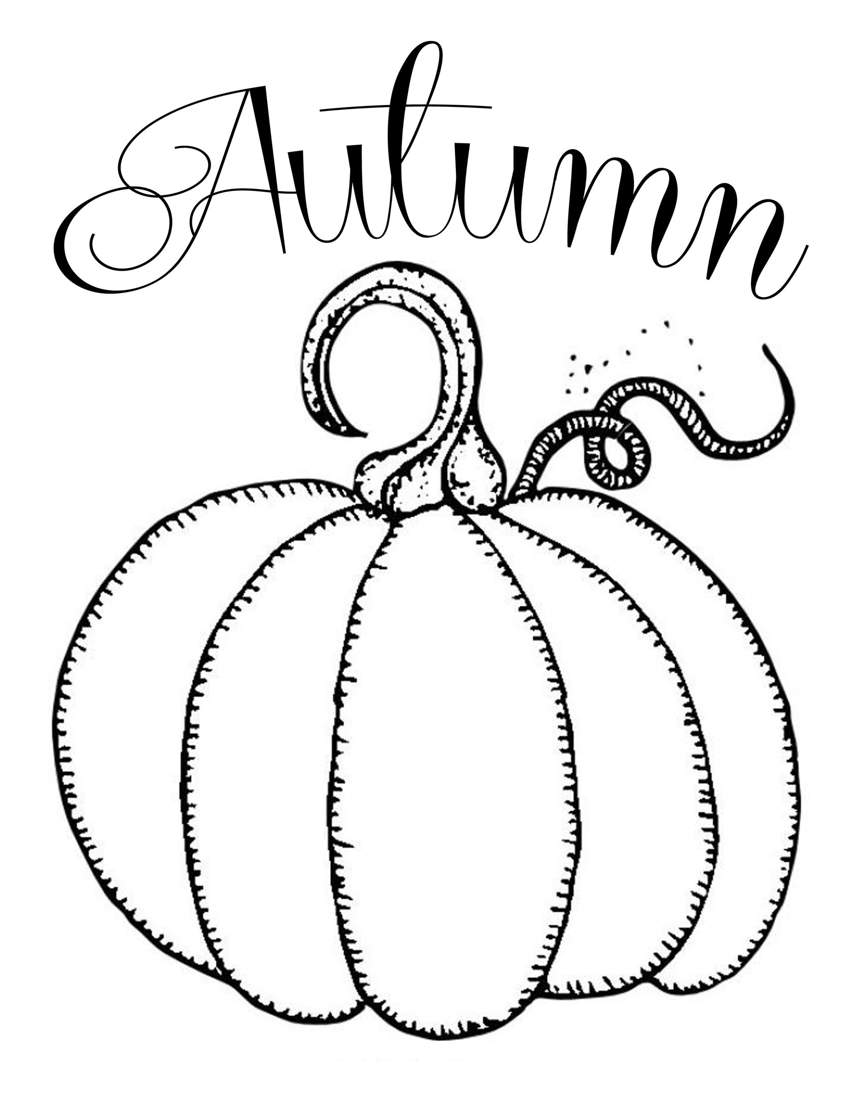 Free Printables ~ Chalkboard Autumn Pumpkin   Fonts And Printables - Free Printable Pumpkin Books