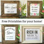 Free Printables Christian Wall Art   Spring And Easter Decor   Mamashire   Free Printable Christian Art