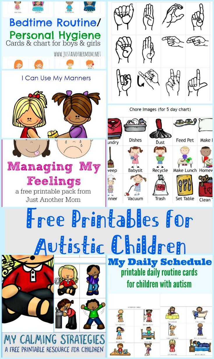 Free Printables For Autistic Children And Their Families Or - Free Printable Cause And Effect Picture Cards
