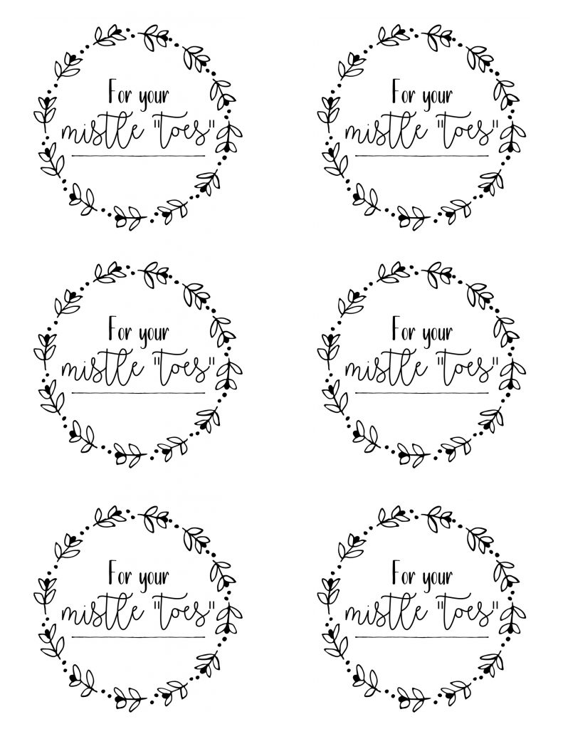 Free Printables For Friends, Neighbors, Teachersetc Christmas - Christmas Gift Tags Free Printable Black And White