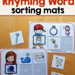 Free Printables   The Measured Mom   Free Printable Rhyming Words Flash Cards