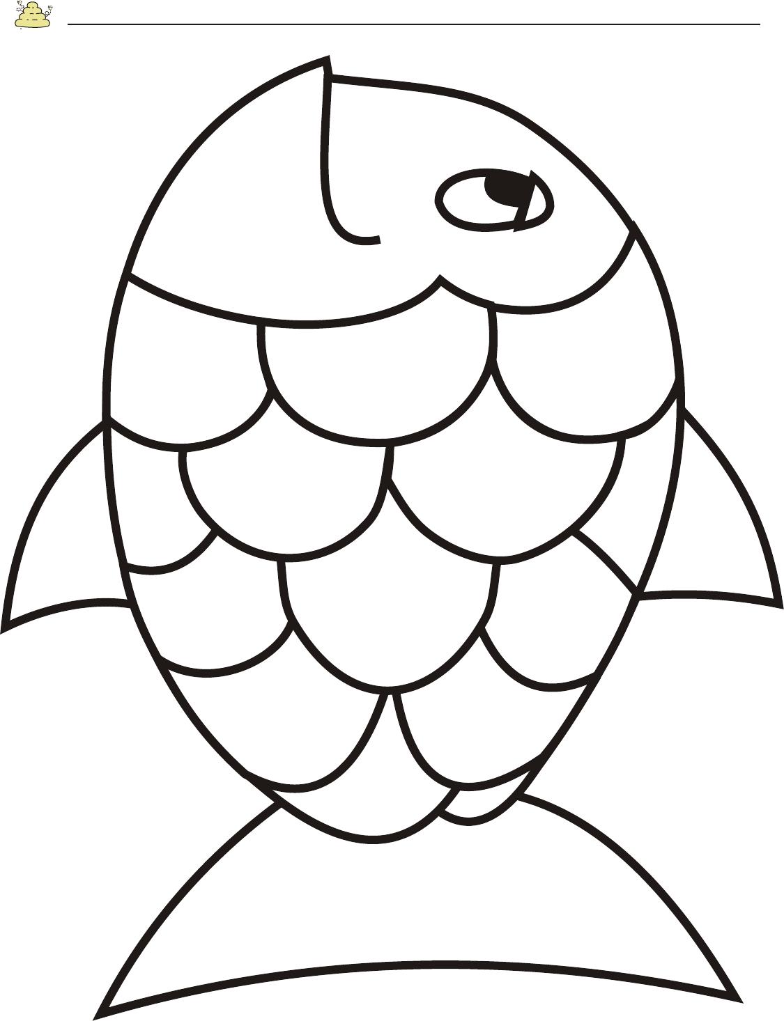 Free Rainbow Fish Template - Pdf   2 Page(S)   Page 2   Vbs - Free Printable Fish Stencils