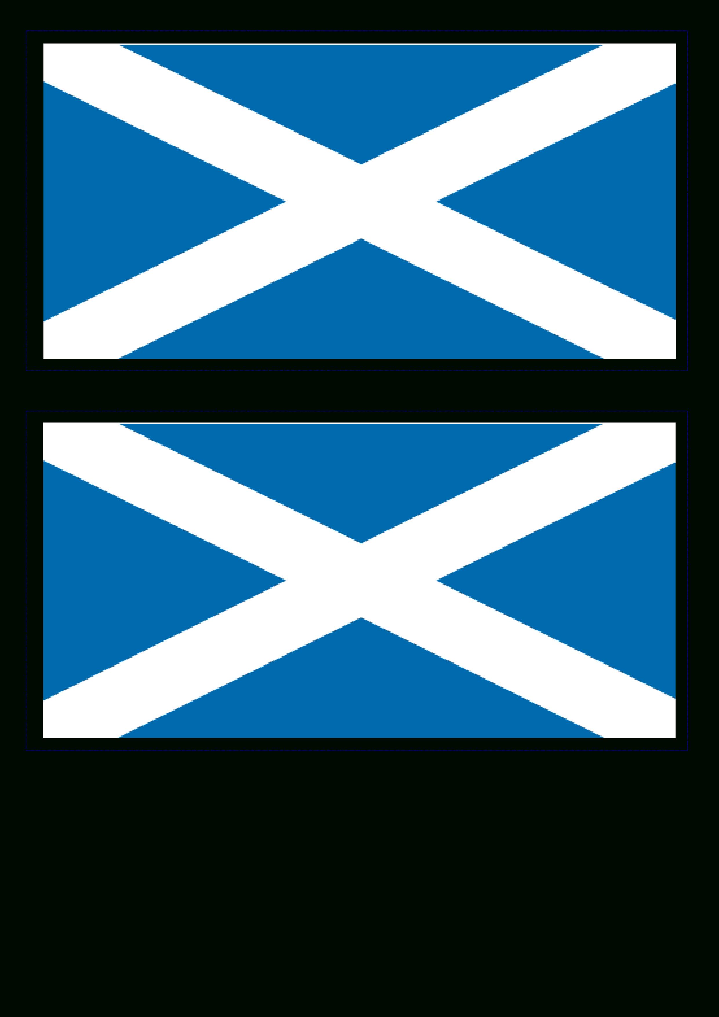Free Scotland Flag | Templates At Allbusinesstemplates - Free Printable Scottish Flag