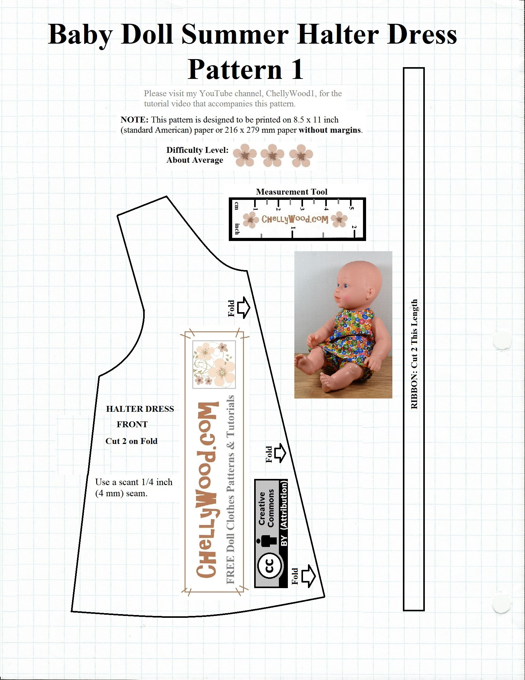 Free #sewing Pattern For Baby #dolls @ Chellywood #crafts - Free Printable Sewing Patterns