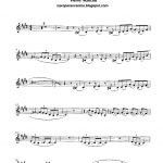 Free Sheet Music For Sax: Pink Panther   Henry Mancini Score And   Free Printable Trumpet Sheet Music Pink Panther