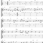 Free Sheet Music Scores: The Star Spangled Banner, Free Guitar   Free Guitar Sheet Music For Popular Songs Printable