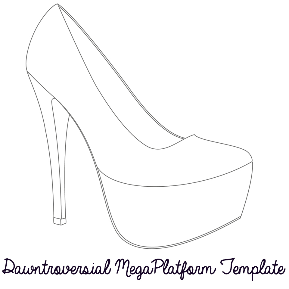 Free Shoe Outline Template, Download Free Clip Art, Free Clip Art On - Free Printable Shoe Print Template