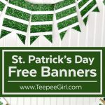Free St. Patrick's Day Banner | Recipe & Holiday Favorites   Free Printable St Patrick's Day Banner