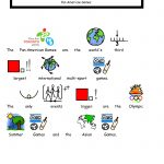 Free Symbolized Resources For 2015 Pan Am Games – Bridges Canada   Free Printable Widgit Symbols