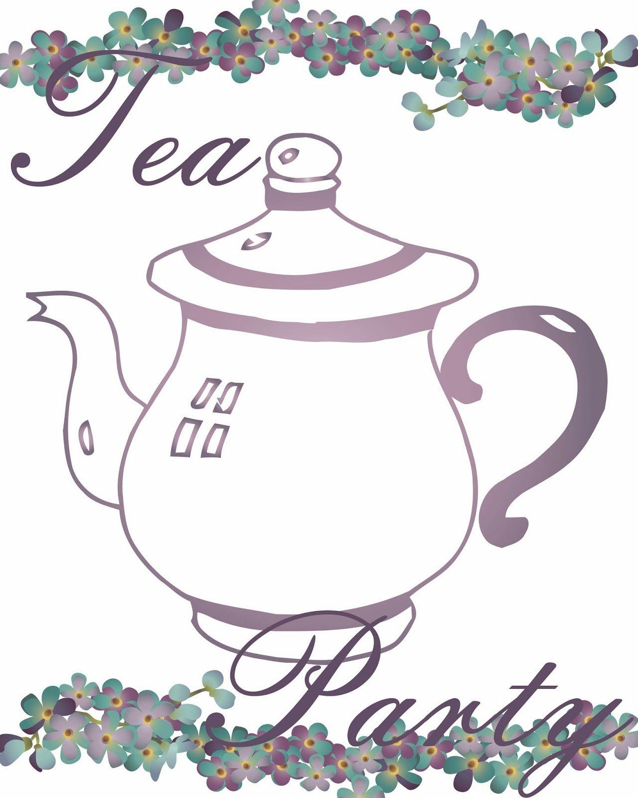 Free Tea Party Printables   Tea Time - Tea Party - Tea Everything - Free Printable Tea Party Games
