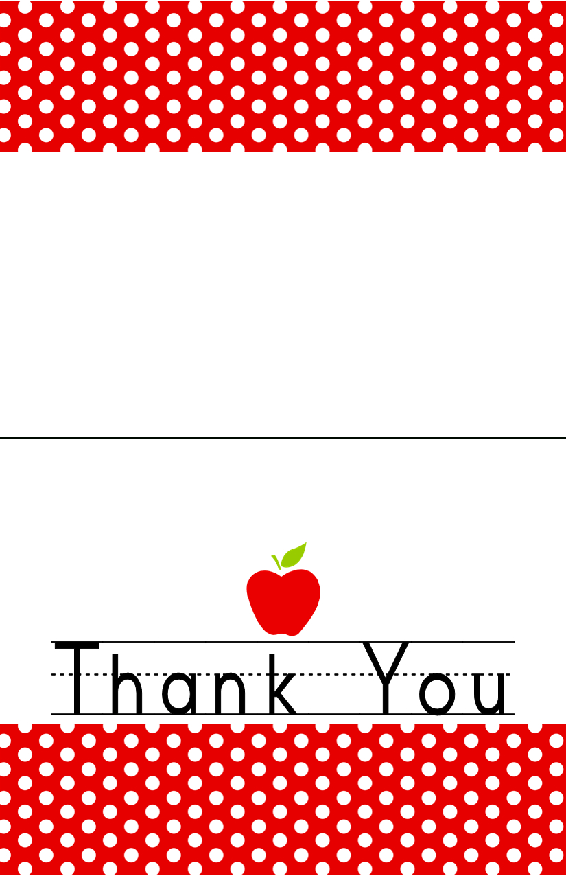 Free Teacher Appreciation Printable | Jacob's Proyects | Teacher - Free Printable Thank You Cards For Teachers
