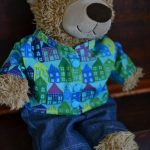 Free Teddy Bear Jacket Pattern For 16In. Bears | Sewing Tutorials   Free Printable Teddy Bear Clothes Patterns
